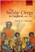 Book Vover The Secular Clergy in England 1066-1216