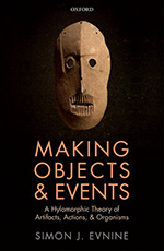 """Making Objects & Events"" book cover by Simon Evnine (BookTalk @ Books & Books)"